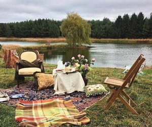 aesthetic, picnic, and alternative image