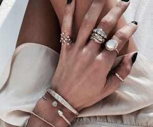 nails, fashion, and jewelry image