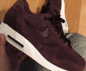 maroon, nike, and shoes image