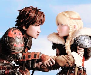 animation, astrid, and disney image