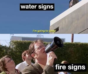 fire, funny, and meme image