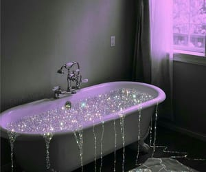 glitter and bath image
