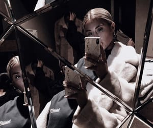 coat, fashion, and mirror image