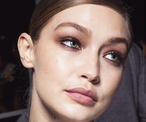 makeup, model, and backstage image