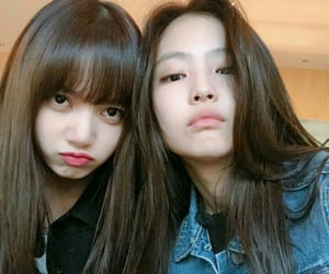k-pop, jennie, and lisa image