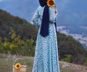الحجاب, أزهار, and حجابي image