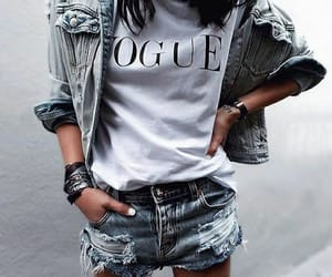 fashion, street style, and jeans image