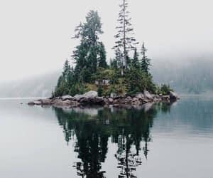 nature, Island, and tree image