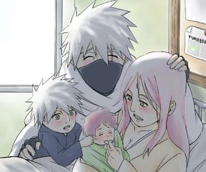 akatsuki, anime, and sakura image