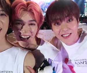 exo, xiumin, and taeyong image