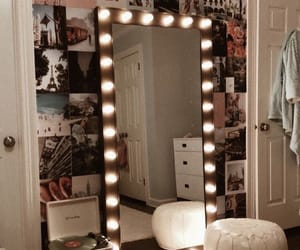 home, mirror, and bedroom image