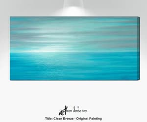 etsy, teal wall art, and beach decor image