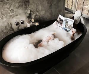 bath, relax, and luxury image