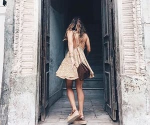 girl, travel, and outfit image