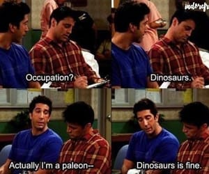 child, dinosaurs, and ross geller image