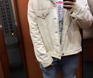 boys, selfie, and elevator image
