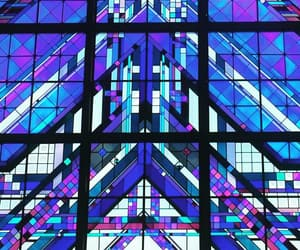 architecture, colors, and glass image