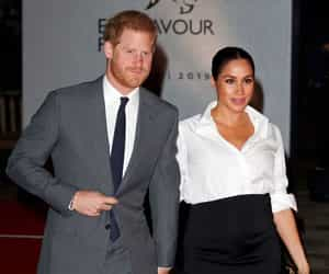 prince harry, meghan markle, and british royals image