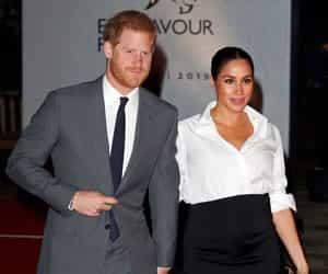 celebrities, royal wedding, and meghan markle image