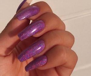 acrylics, cute nail ideas, and beauty image