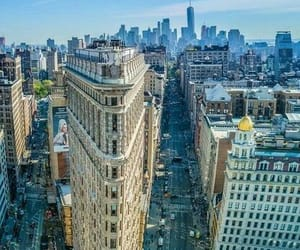 architecture, cities, and manhattan image