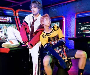 v, rm, and namjoon image
