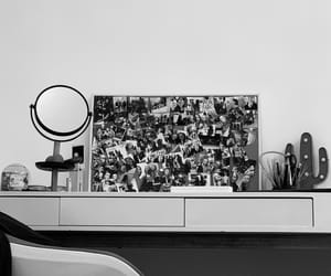 black and white, decorations, and friends image