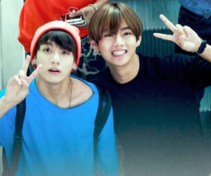 v, jungkook, and jk image
