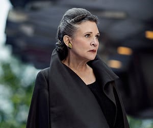 aesthetic, film, and carrie fisher image