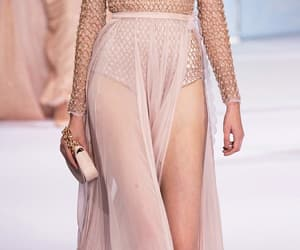 catwalk, high fashion, and rose gold image