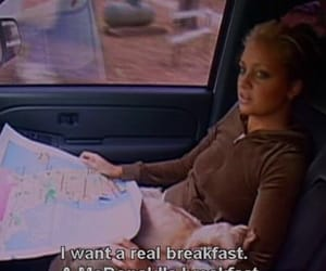 breakfast, girl, and bfast image