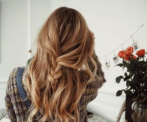 blonde, hair, and pinterest image