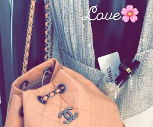 bags, chanel, and flowers image