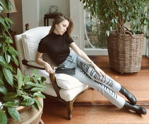 beauty, boots, and jean image