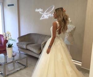dresses, girls, and wedding image