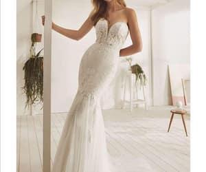 dresses, girls, and wedding dresses image