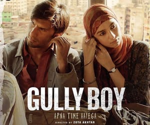 indian cinema and gully boy image