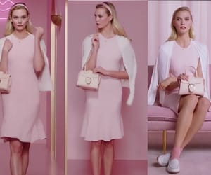 espera, outfit, and pink dress image