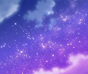 aesthetic, purple, and star image