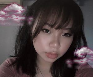 alternative, asian girl, and bangs image