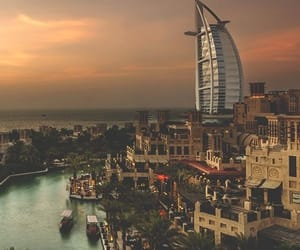 Dubai, travel, and city image
