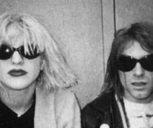 Courtney Love and kurt cobain image