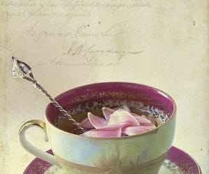 art, illustration, and tea image