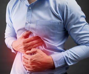 stomach ulcer and stomach ulcer symptoms image