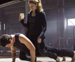 Shailene Woodley, divergent, and miles teller image