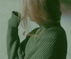 green, girl, and aesthetic image