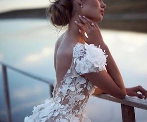 fashion, dress, and bride image
