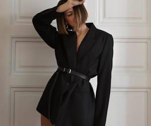 black, elegant, and blazer image