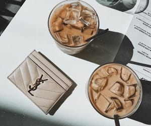 coffee, ice, and YSL image