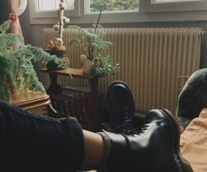 aesthetic, black, and doc martens image